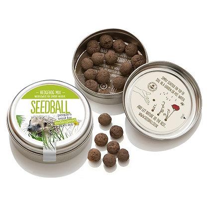 Seedball Tin - Hedgehog Mix