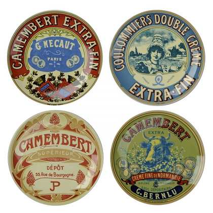 DRH Classic Camembert Plates - Set of 4