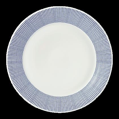 Royal Doulton Pacific Blue Dots 28cm Dinner Plate