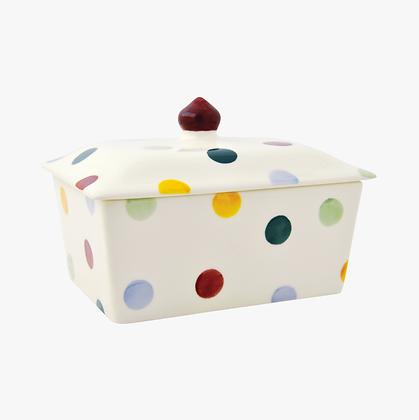 Emma Bridgewater Butter Dish Polka Dot