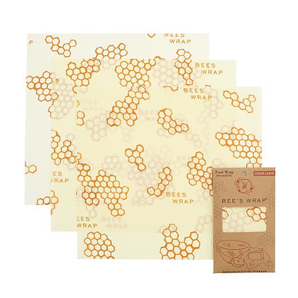Eddingtons Bees Wax Food Wrap Large 3 pack