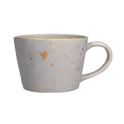 Gisela Graham Light Grey Splash Mug