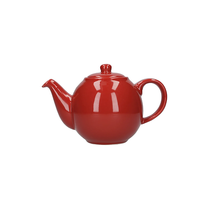London Pottery 2 Cup Globe Teapot - Red