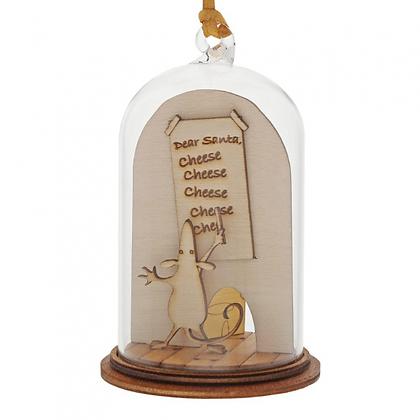 Kloche Hanging Ornament - Dear Santa