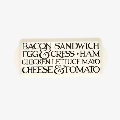 Emma Bridgewater Black Toast Melamine Sandwich Tray