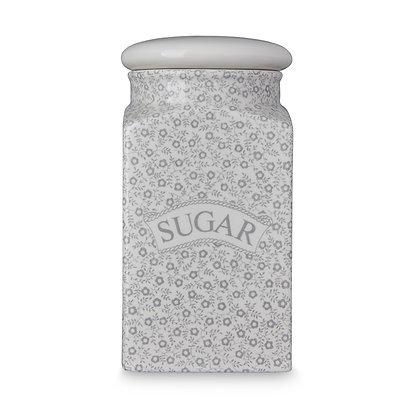Burleigh Pottery Dove Grey Felicity Sugar Storage Jar