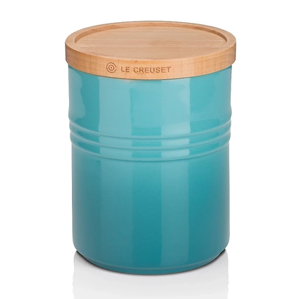 Le Creuset Medium Storage Jar - Caribbean
