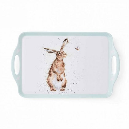 Pimpernel Wrendale Designs Large Handled Tray - Hare & Bee
