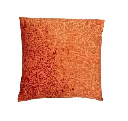 Malini Bingham Feather Cushion - Orange