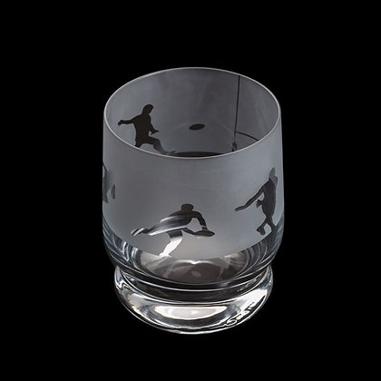 Dartington Aspect Rugby Glass Tumbler