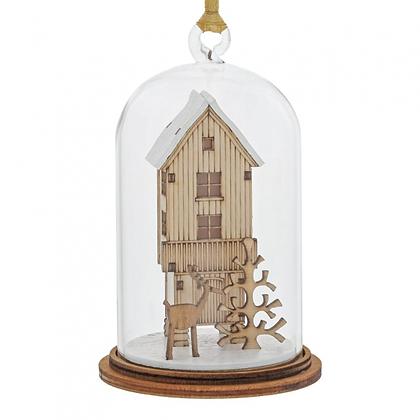Kloche Hanging Ornament - Christmas Wish