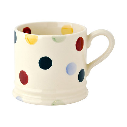 Emma Bridgewater Polka Dot Baby Mug front view