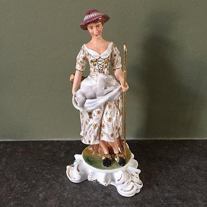 Royal Crown Derby Shepherdess