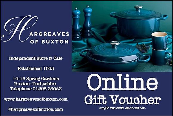 Online Gift Voucher-£30