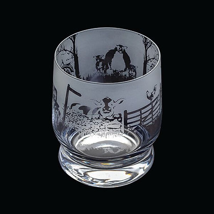 Dartington Aspect Farming Glass Tumbler