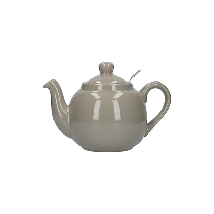 London Pottery 2 Cup Farmhouse Infuser Teapot - Grey