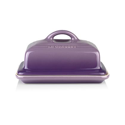 Le Creuset Stoneware Classic Butter Dish Ultra Violet