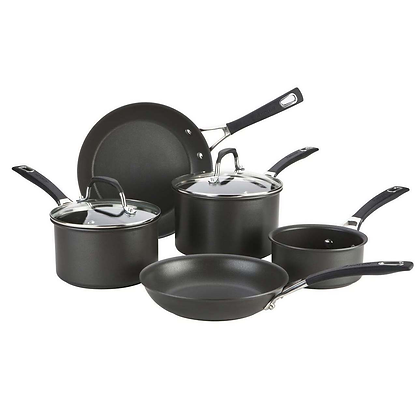 Anolon Synchrony 5 Piece Hard Anodized Pan Set