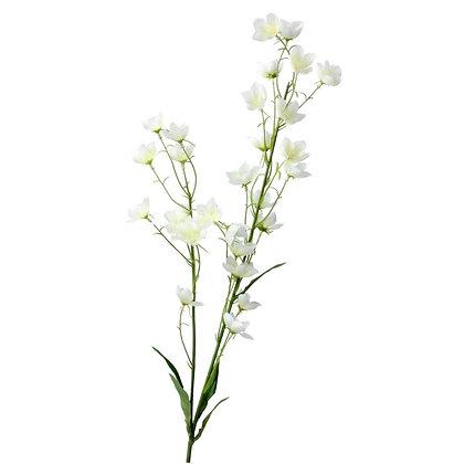 Gisela Graham White Mini Bell Flower Stem
