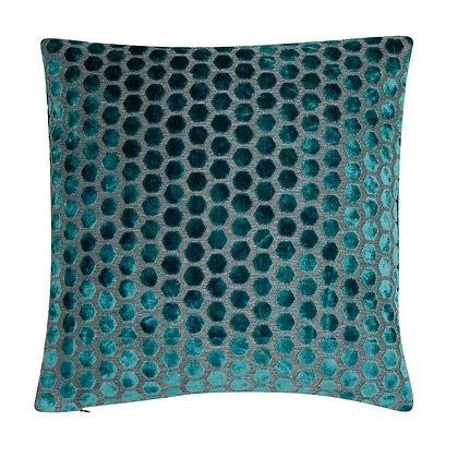 Malini Jorvik Feather Cushion - Teal