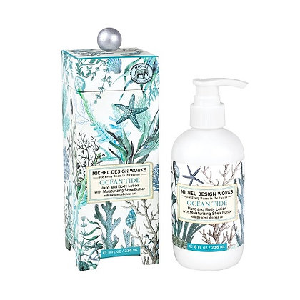 Michel Designs Hand and Body Lotion - Ocean Tide