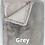 Thumbnail: Malini Rapture Faux Rabbit Throw - Grey