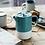 Thumbnail: La Cafetière Barcelona 6 Cup Ceramic Cafetiere - Retro Blue