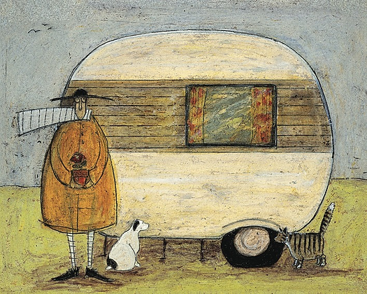 Canvas Art - Sam Toft 'Home from Home'