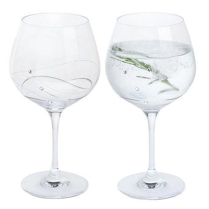 Dartington Glitz Gin Copa Glass Pair