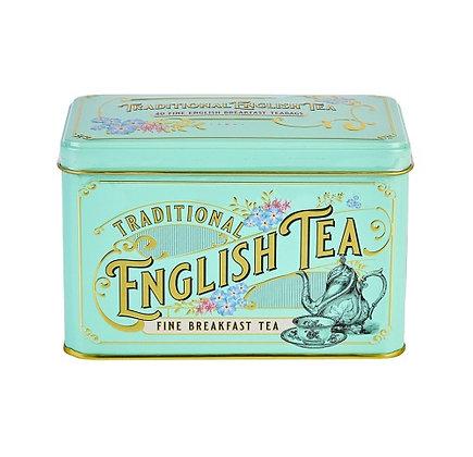 New English Vintage Victorian 40 Tea Bag Caddy