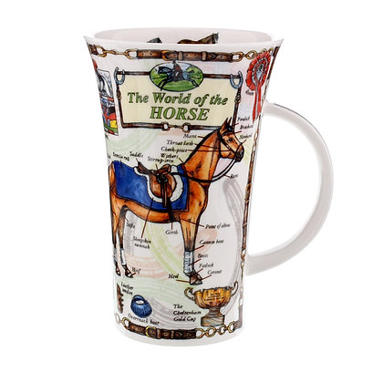 Dunoon Glencoe Mug - The World of the Horse