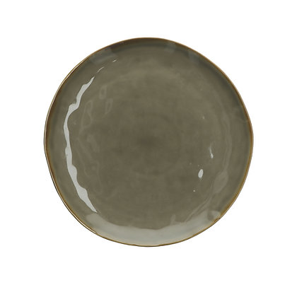 Concerto Taupe Grey 27cm Plate
