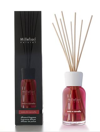 Millefiori Milano Natural 250ml Diffuser - Apple and Cinnamon