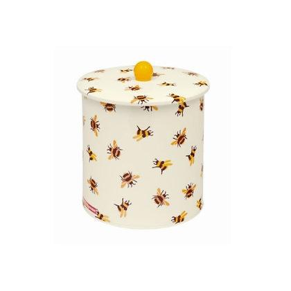 """Elite Tins Emma Bridgewater """"Bumblebee"""" Biscuit Barrel"""