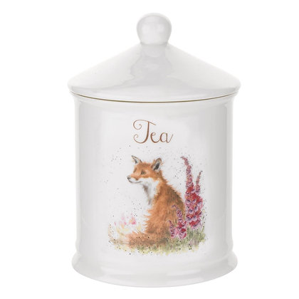 Royal Worcester Wrendale Tea Caddy