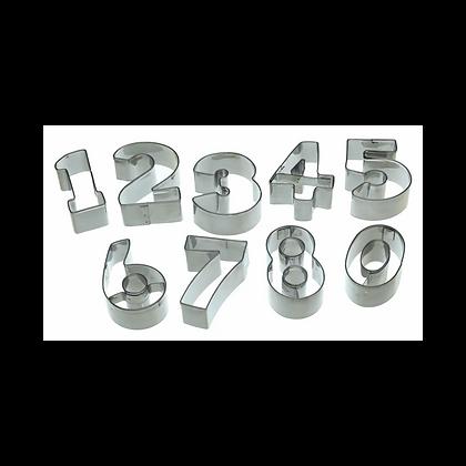 KitchenCraft Let's Make Numeral Cookie Cutter Set