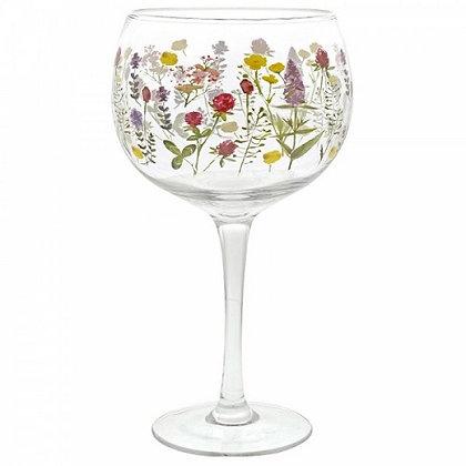 Ginology Gin Copa Glass - Wildflowers