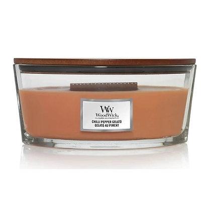 Woodwick Ellipse Candle - Chilli Pepper Gelato