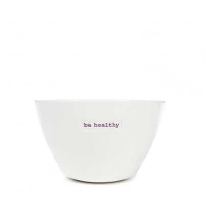 Keith Brymer Jones Medium Bowl - Be Healthy