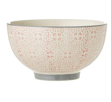 Bloomingville Cecile 13cm Bowl - Pink Kaleidoscope