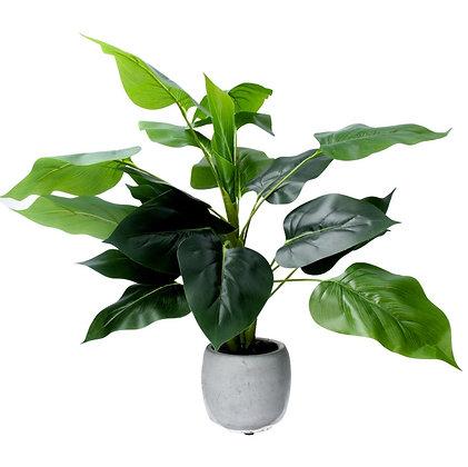 Gisela Graham Philodendron Faux Pot Plant