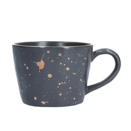 Gisela Graham Dark Grey Splash Mug