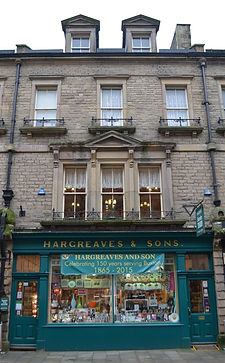 150th Anniversary Store front Buxton
