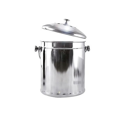 Eddingtons Deluxe Stainless Steel Compost Pail