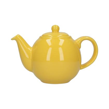 London Pottery 6 Cup Globe Teapot - Yellow