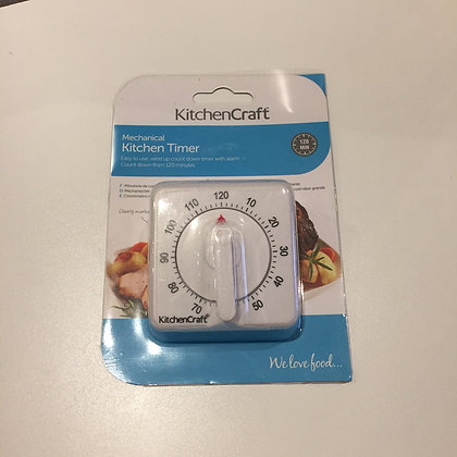 KitchenCraft 120 minutes mechanical timer