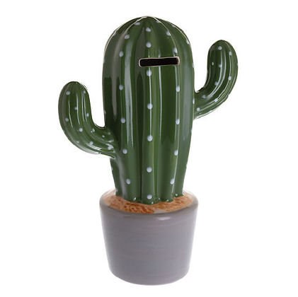 Beswick Money Bank - Cactus