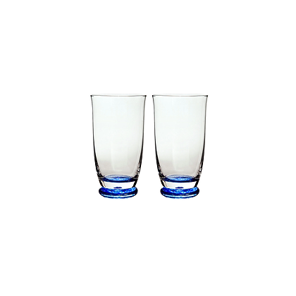 Denby Imperial Blue Large Tumblers Set of 2