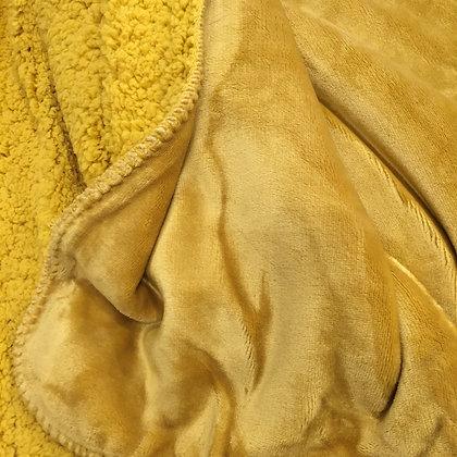 Malini Cosy Throw - Mustard