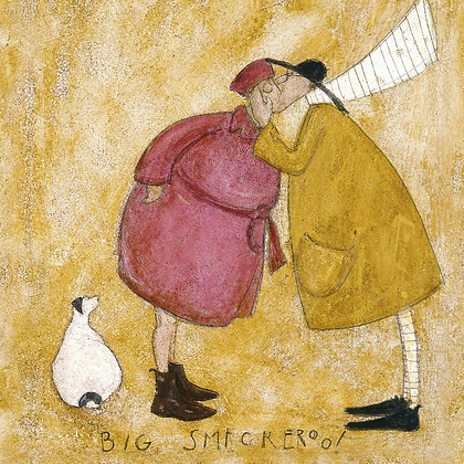 Canvas Art - Sam Toft 'Big Smackeroo'